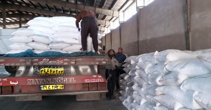 ورود اولین محموله کودهای سولفات آمونیوم به استان البرز