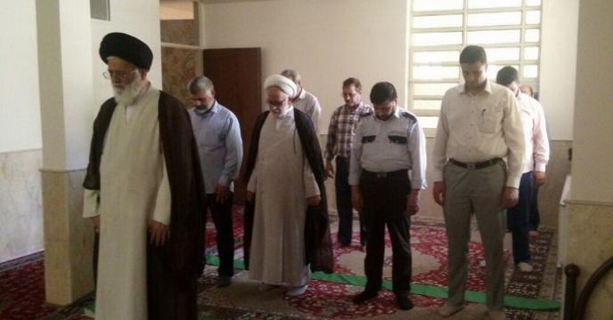 معرفی امام جماعت با حضور نماینده ولی فقیه استان یزد