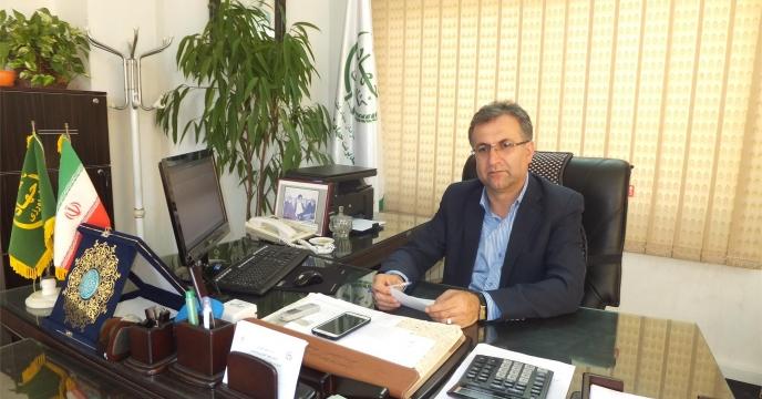 بازدید مدیر آمل از همایش معرفی سبد کودی استان مازندران