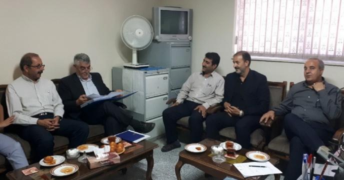 جلسه ی اکیپ نظارتی و کنترل توزیع کود استان آذربایجان شرقی