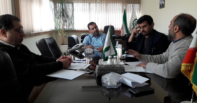 برگزاری جلسه مدیریت و معاونین مرکز تحقیقات کاربردی نهاده های کشاورزی