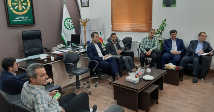 جلسه عمومی   مشاور محترم مدیر عامل و مدیر هماهنگی امور استانهای شرکت خدمات حمایتی کشاورزی با مدیر و پرسنل حاضر در گلستان