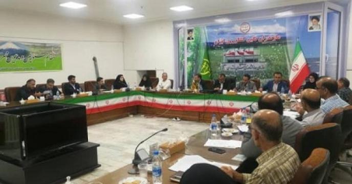 برگزاری نشست کارگروه توسعه بخش کشاورزی مازندران