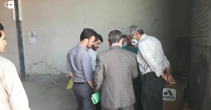پایش و بازدید از کارگزاران توزیع نهاده های کشاورزی شهرستان کرج