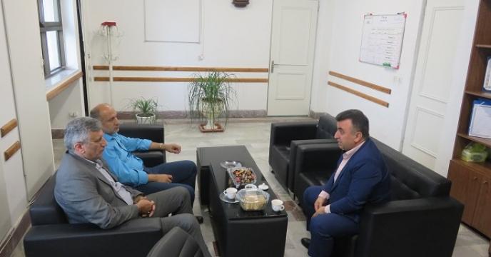 دیدار مدیر سازمان تعاون روستایی با مدیر استان مازندران