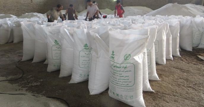 کیسه گیری 3 هزار تن کود فله در استان مازندران