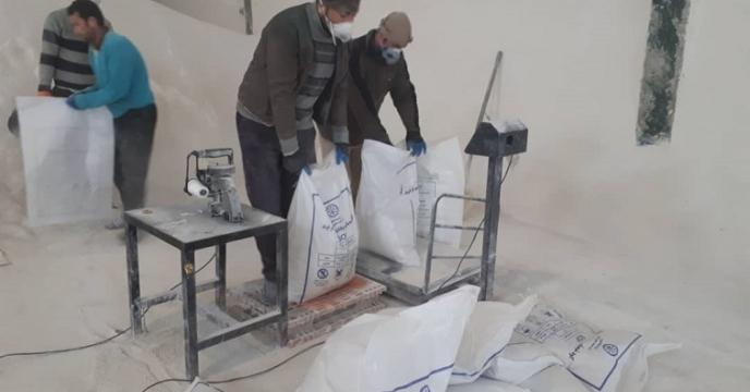 کیسه گیری 150 تن سولفات پتاسیم در آذربایجان غربی