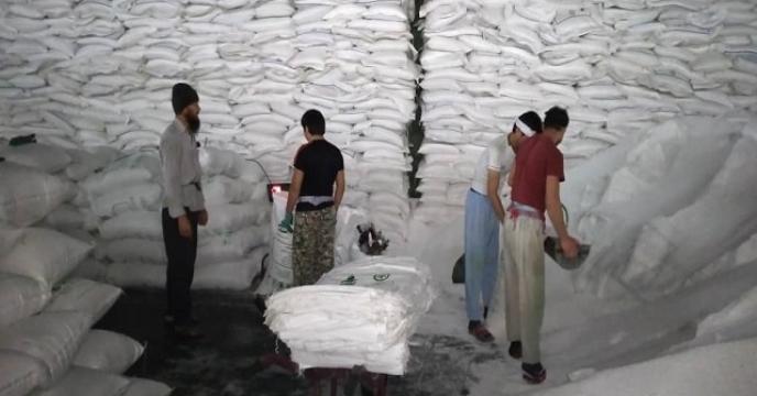 کیسه گیری 158تن کود فله در مازندران