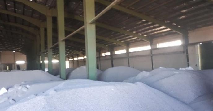 تامین وتوزیع 477 تن کود کشاورزی در عباس آباد