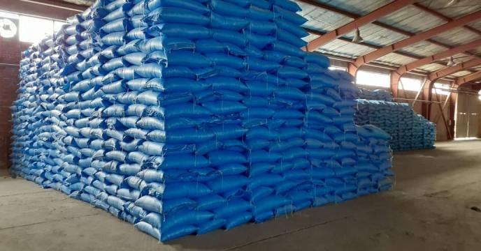 توزیع 150 تن کود شیمیایی اوره در شهرستان هریس