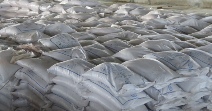 توزیع مستقیم 4400 کیلوگرم کود کلرورپتاسیم در مازندران