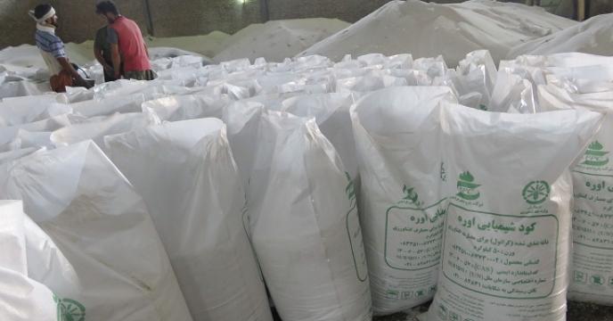 توزیع 25  تن کود اوره از طریق شرکت توسعه کشاورزی در قائم شهر