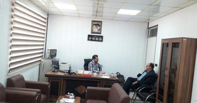 حضور مدیر زراعت سازمان جهاد کشاورزی در شرکت خدمات حمایتی کشاورزی استان قم