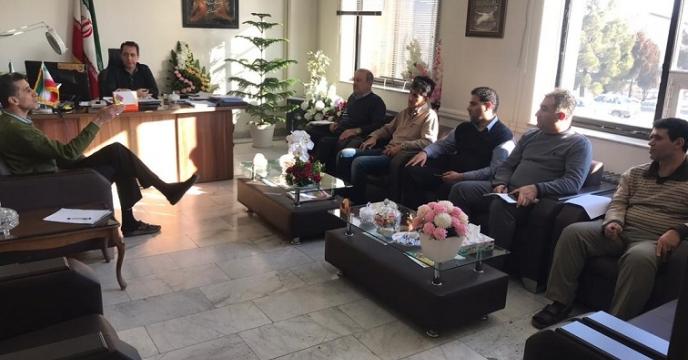 جلسه بررسی اسناد مالی شرکت خدمات حمایتی استان آذربایجان غربی