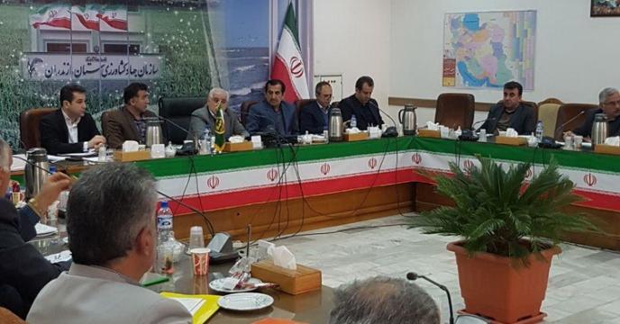 حضور مدیر  مازندران در جلسه شورای کشاورزی استان