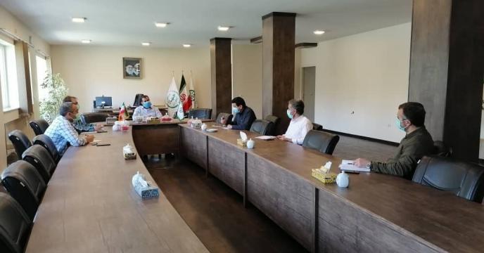 جلسه شورای معاونین در مجتمع شیمیائی آبیک