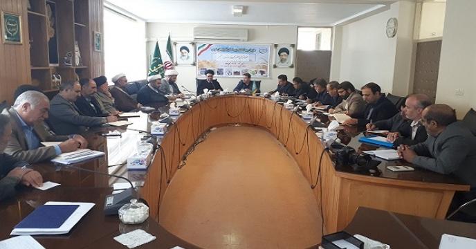 برگزاری جلسه شورای اقامه نماز در استان آذربایجان غربی