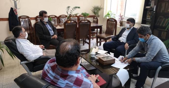 جلسه تامین کود در سازمان جهاد کشاورزی استان سمنان