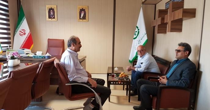 نشست صمیمانه مدیران شرکت خدمات حمایتی کشاورزی استان قزوین و خراسان شمالی