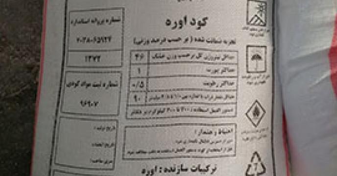 سهم شهرستان قاین از توزیع کود اوره