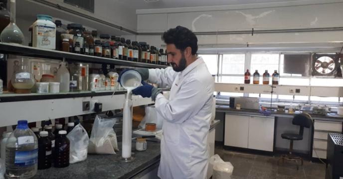 آزمایش تست پایداری  پارت 14روغن ولک 80%  مجتمع شیمیائی آبیک