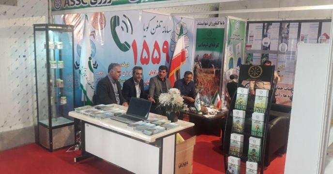 حضور فعال شرکت خدمات حمایتی کشاورزی استان گلستان  درششمین نمایشگاه تخصصی بذر، کود ، سم و نهاده های کشاورزی