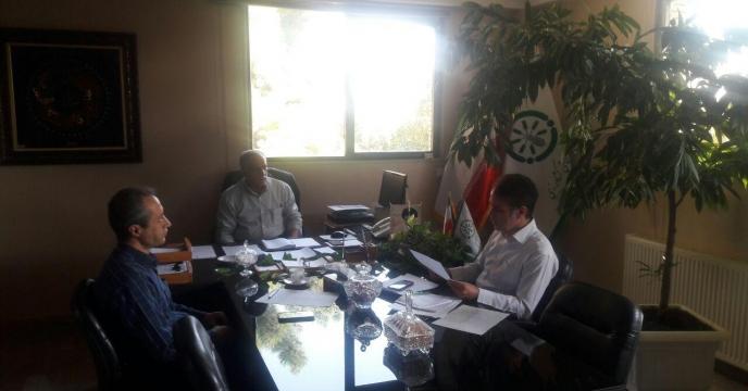 جلسه هماهنگی برگزاری همایش ترویج و معرفی سبد محصولات کودی شرکت در خراسان رضوی