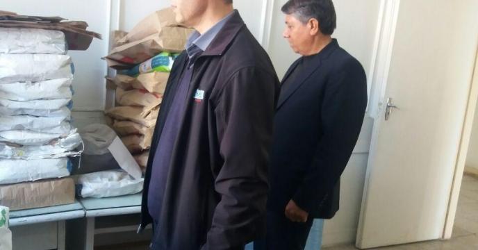 نظارت و بازدید دوره ای از انبارهای تابعه مدیریت از کارخانه بذر مشهد، خراسان رضوی