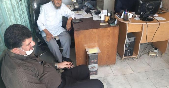 مدیر شرکت خدمات حمایتی کشاورزی استان گلستان در جمع کشاورزان کارگزاری های شهرستان آق قلا گلستان