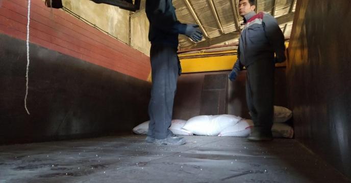 گزارش عملکرد حمل کود در آذر ماه  99 شهرستان  سروآباد
