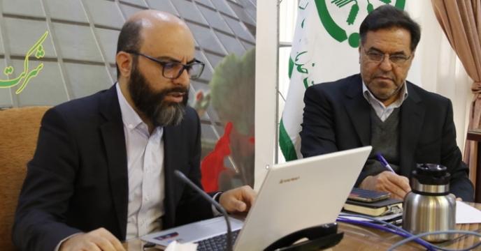 هشتمین جلسه آموزش تولید محتوا رابطین روابط عمومی ستادی