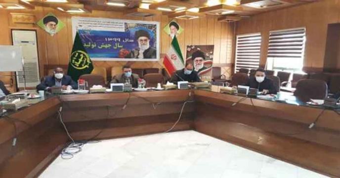نشست بهرهوری بخش کشاورزی استان اصفهان