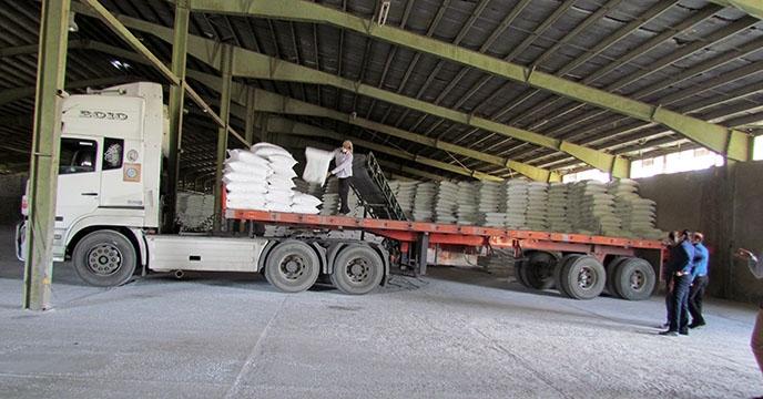تأمین و توزیع پنج هزار و 650 تن کود شیمیایی ازته در سال 1399 توسط شرکت خدمات حمایتی کشاورزی استان همدان در شهرستان فامنین