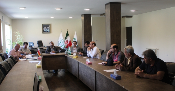 جلسه مناقصه عمومی حفاظت فیزیکی مجتمع شیمیائی آبیک