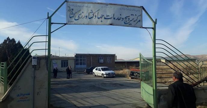 بازدید گروه پایش شرکت خدمات حمایتی کشاورزی آذربایجان غربی از شهرستان شاهین دژ