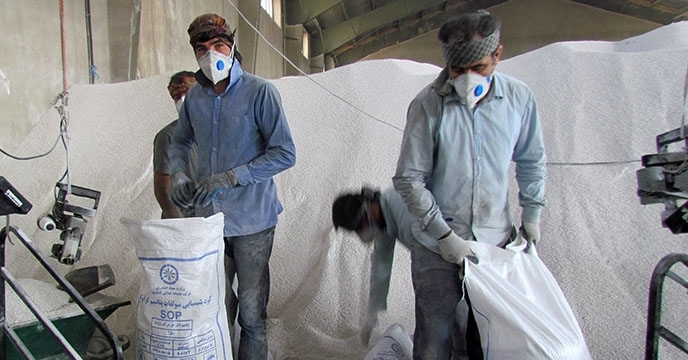 تامین و توزیع 25 تن کود سولفات پتاسیم در استان سمنان