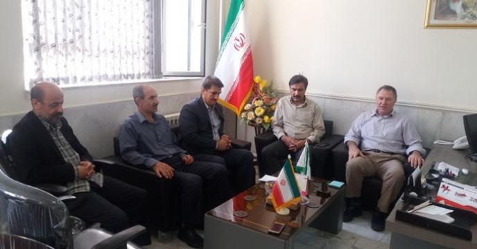 جلسه بررسی طرح فروش وکالتی ماشین ها وادوات کشاورزی در شرکت خدمات حمایتی کشاورزی استان کرمانشاه