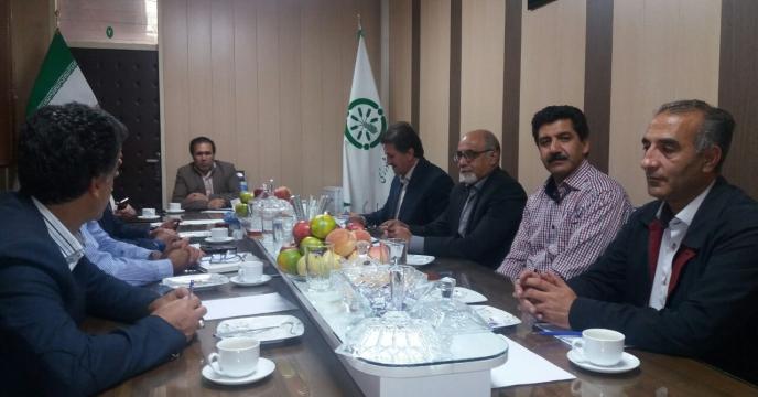جلسه رفع موانع فروش وکالتی ماشین آلات در زنجان