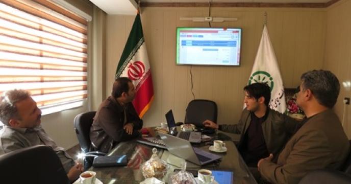 جلسه بررسی و آزمایش برنامه نظارت برتوزیع نهاده های کشاورزی استان خراسان شمالی