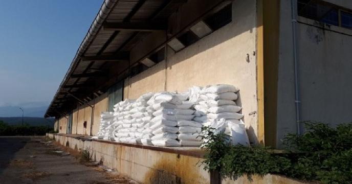 تامین وتوزیع 10 تن کود فسفات آمونیوم در نور استان مازندران