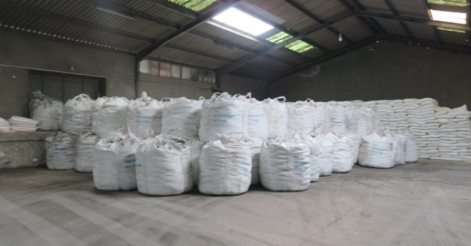 تامین و توزیع 15 تن انواع کود کشاورزی در نوشهر  استان مازندران