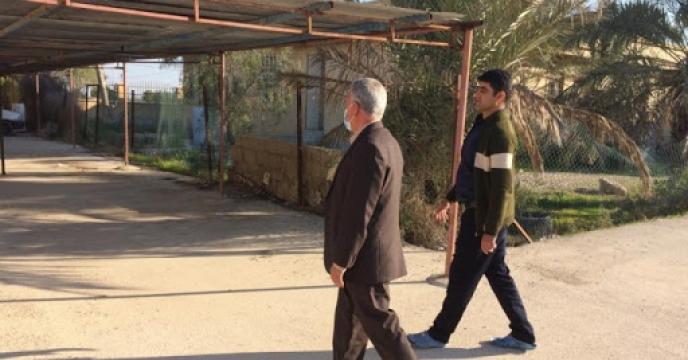 بازدید مدیر شرکت خدمات حمایتی کشاورزی استان بوشهر از انبار سازمانی بنگاه توسعه سابق