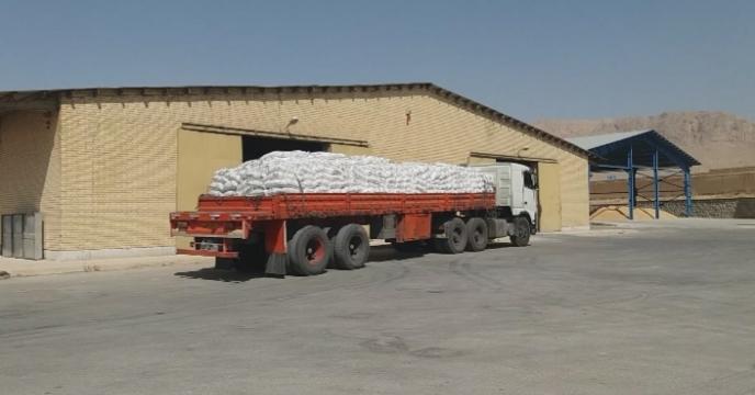 توزیع 99 تن کود سولفات پتاسیم در  استان چهارمحال وبختیاری