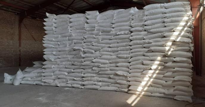 توزیع 1200 تن کود شیمیایی اوره  در شهرستان ملکان