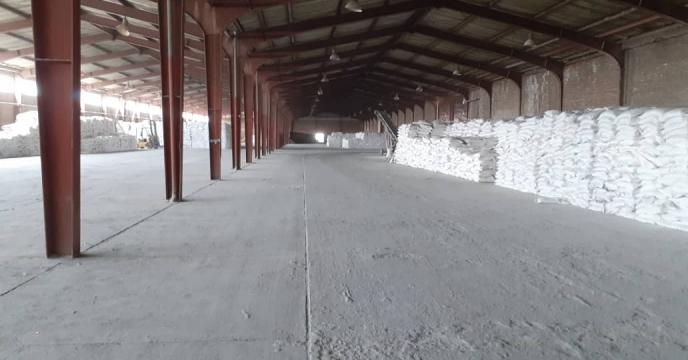 توزیع 90 تن کود شیمیایی کلرور پتاسیم پودری در شهرستان مرند