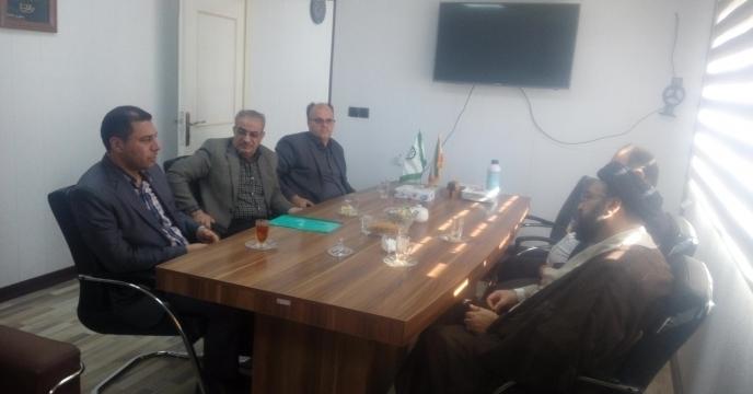 جلسه با مدیر بازرسی و زراعت سازمان جهاد کشاورزی