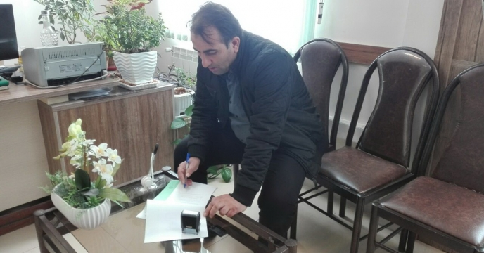 تمدید قرارداد كارگزاران توزیع نهاده هاي كشاورزي شركت خدمات حمايتي استان قزوین