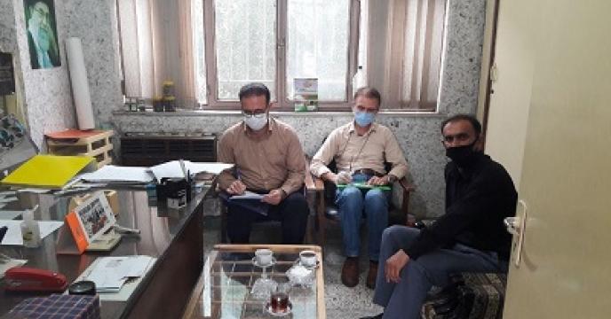 بازدید دوره ای از کارگزاری های کود شهرستان گرگان