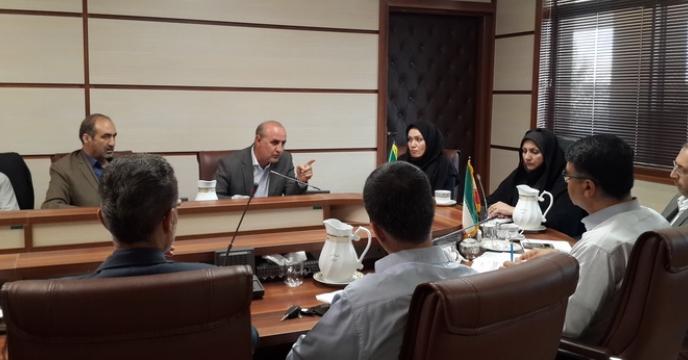 جلسه بررسی مسائل مربوط به تأمین کود اوره استان قزوین