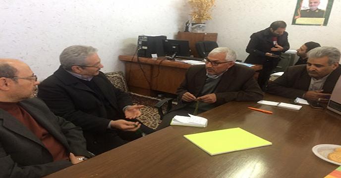 دیدار با نماینده مجلس شورای اسلامی